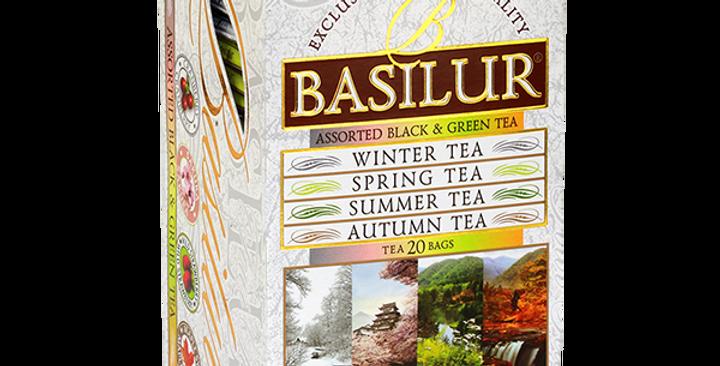 Basilur Assorted Black And Green Tea 35g