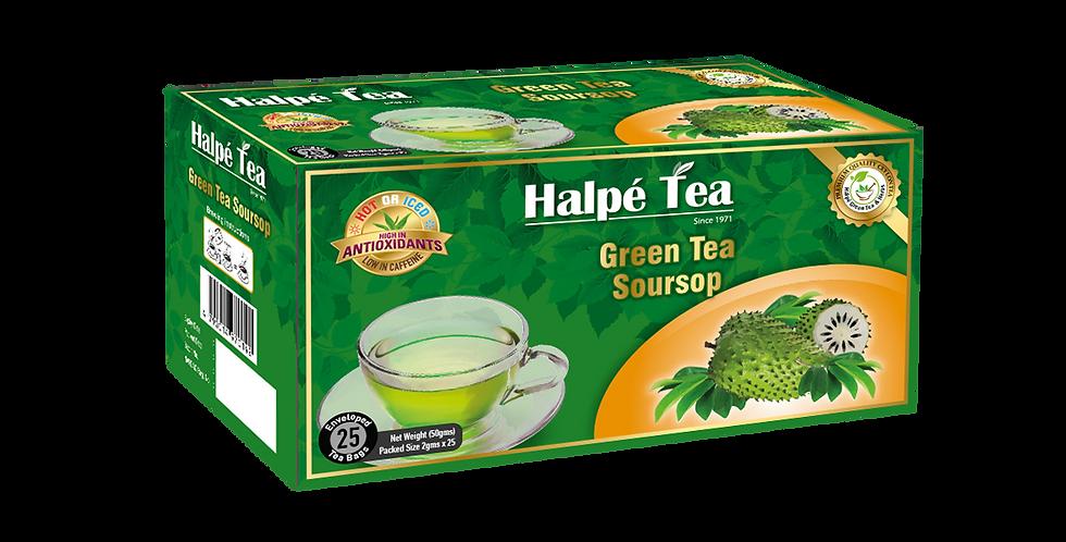 Halpe Green Tea Soursop 25 Enveloped Tea Bags