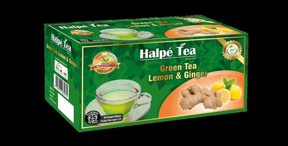 Halpe Green Tea Lemon & Lime 25 Enveloped Tea Bags