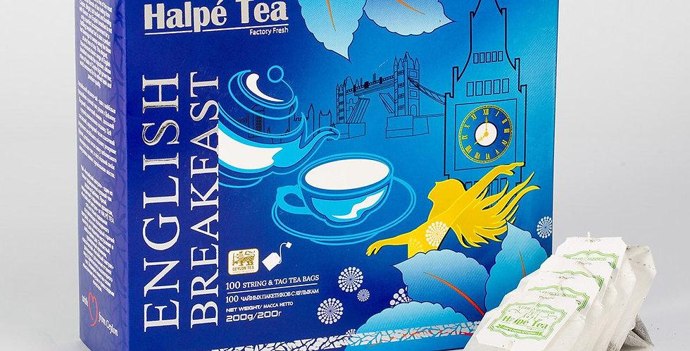 Halpe English Breakfast 100 Tea Bags