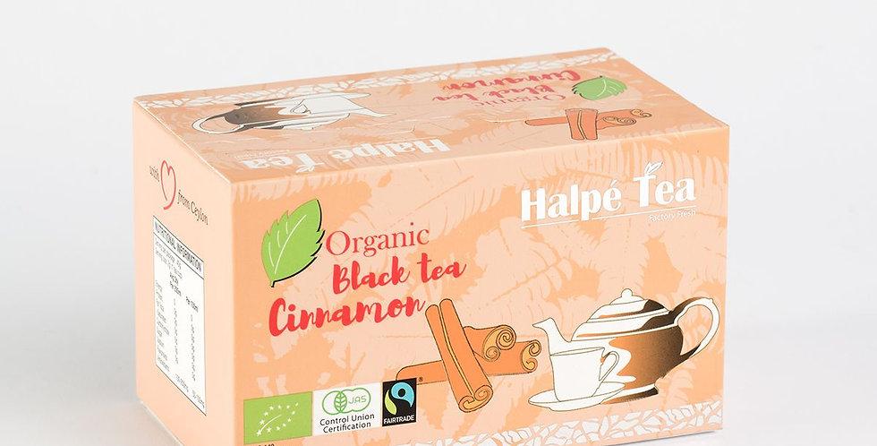 Halpe Fair-trade Organic Black Tea Cinnamon