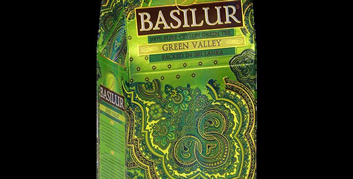 Basilur Green Valley Tea 100g