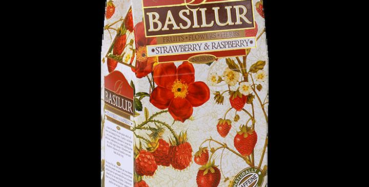 Basilur Strawberry & Raspberry Tea 100g