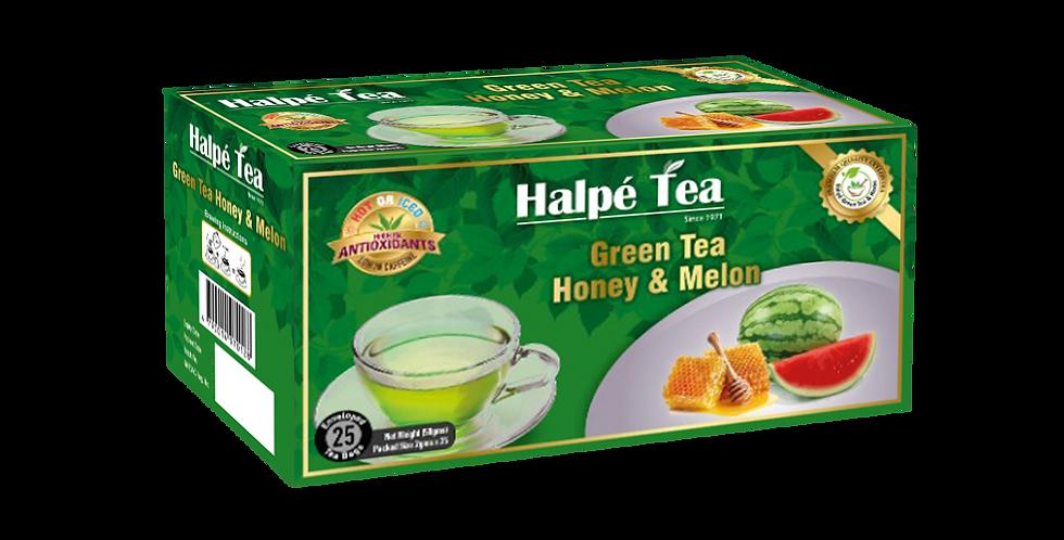 Halpe Green Tea Honey & Melon 25 Enveloped Tea Bags