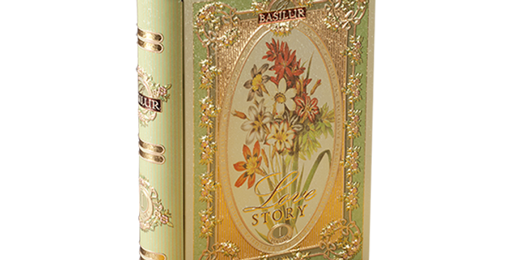 Basilur Miniature Tea Book 'Love Story' Volume I