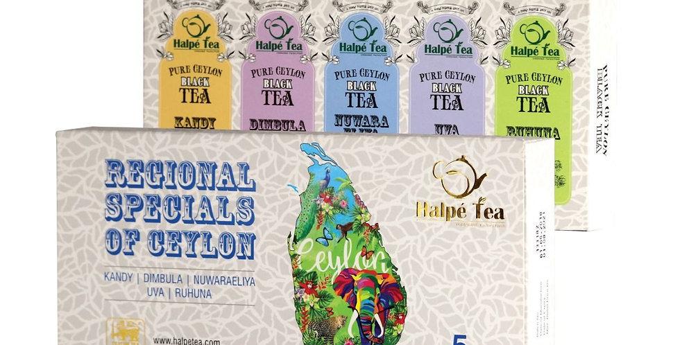 Halpe Tea 5 Regional Collection