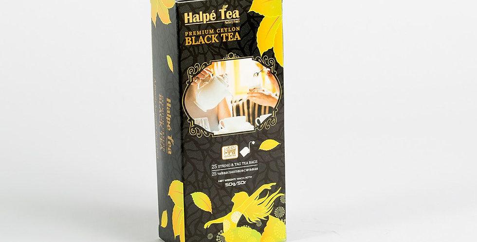 Halpe Premium Ceylon Black Tea 25 Tea Bags