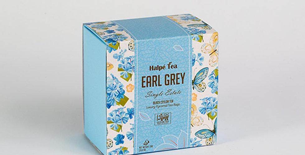 Halpe Earl Grey Luxury Enveloped Pyramid Tea Bags