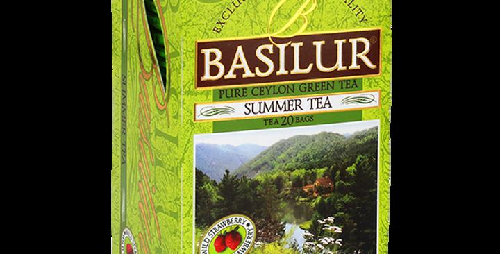 Basilur Ceylon Pure Green Summer Tea 30g