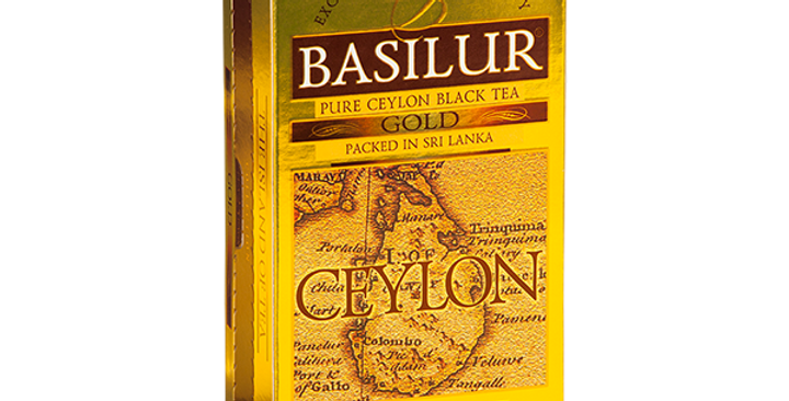 Basilur Island Of Tea Caddies Special Gold Tea 50g