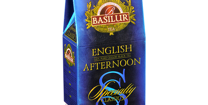 Basilur English Afternoon Tea 100g