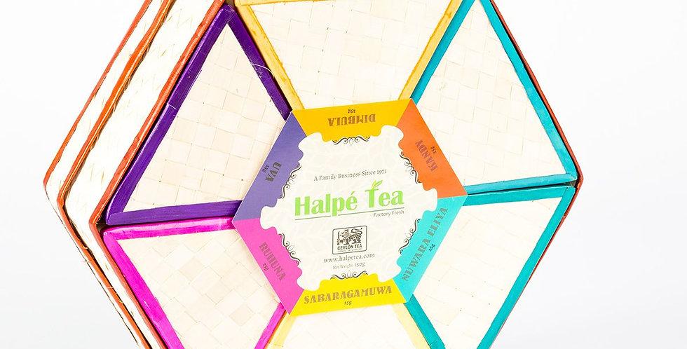 Halpe 6 Regions Reed Tea Box