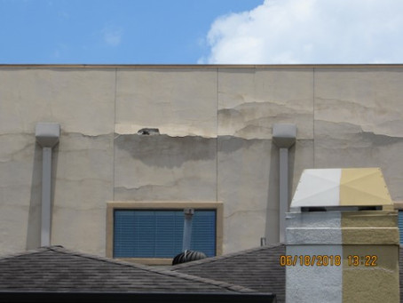 Stucco cracks - when they're serious and when they aren't.