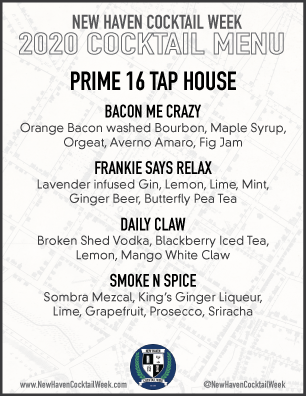 Prime 16 Tap House + Burgers 172 Temple St, New Haven, CT 203.782.1616