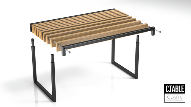 SLAT BENCH FLAT PACK