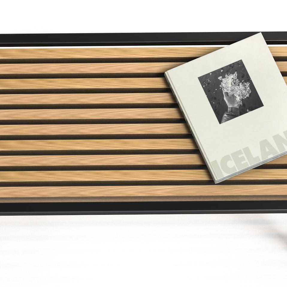 CLARK JAMES CUSTOM - OAK C TABLE
