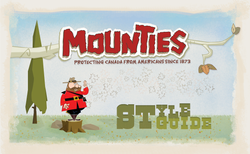 Mountie Front Cover
