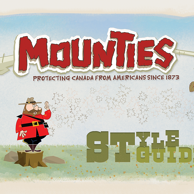 MOUNTIES STYLE GUIDE