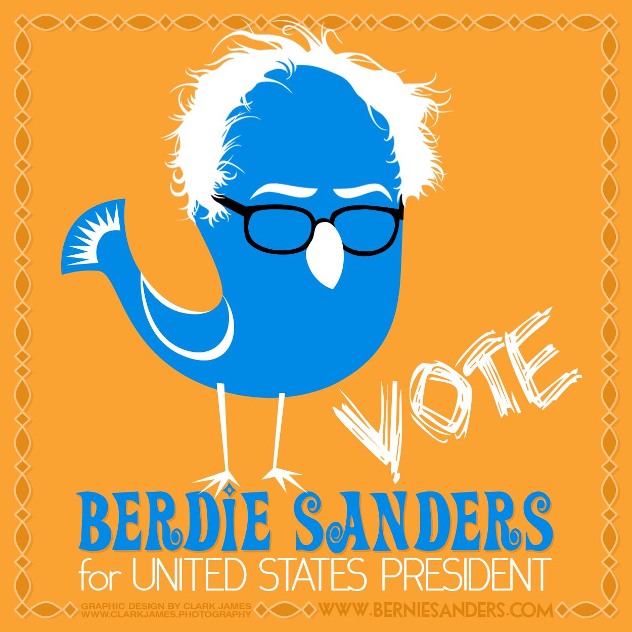Berdie-Bernie-Sanders-By-Clark-James