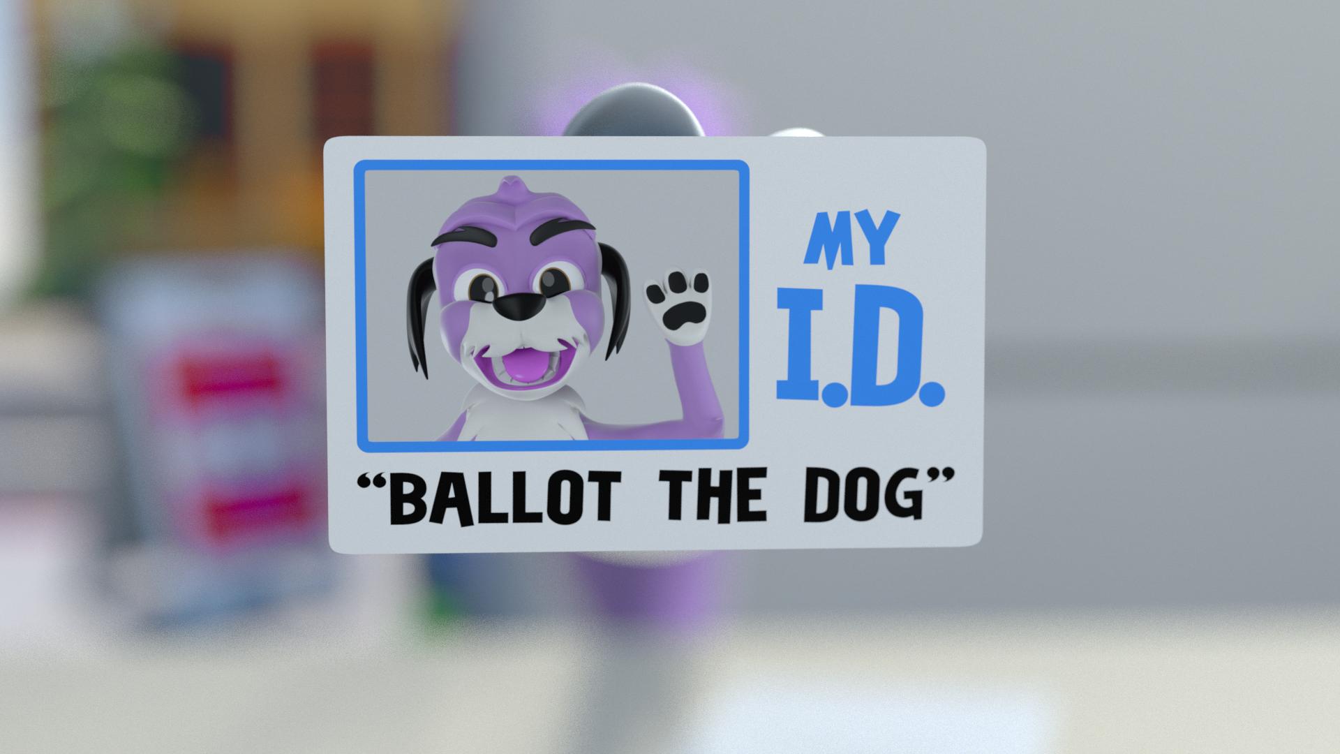 BALLOT THE DOG