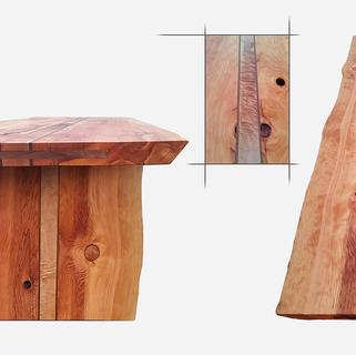 CLARK-JAMES-CUSTOM-RUINS-GIANT-DOUG-FIR-DINING-TABLE