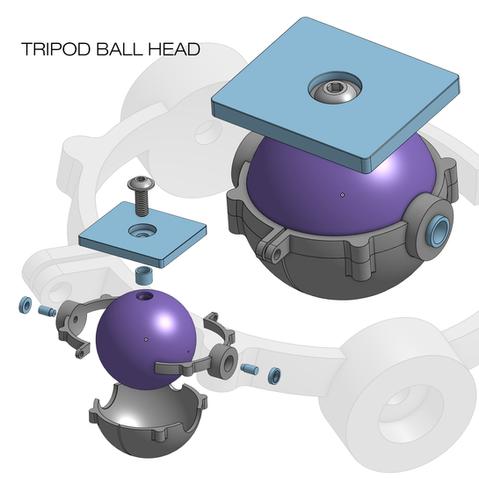 TRIPOD BALL HEAD