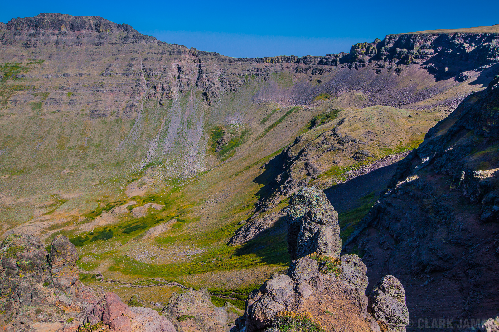 STEENS MOUNTAINS LOOKING EAST