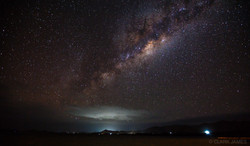 THE UNIVERSE OVER GOLDEN POINT, FIJI