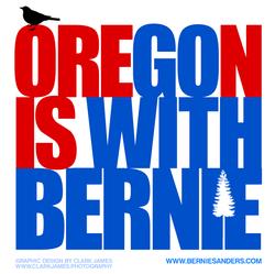 Oregon-Go-WIth-Bernie-Sanders-By-Clark-James