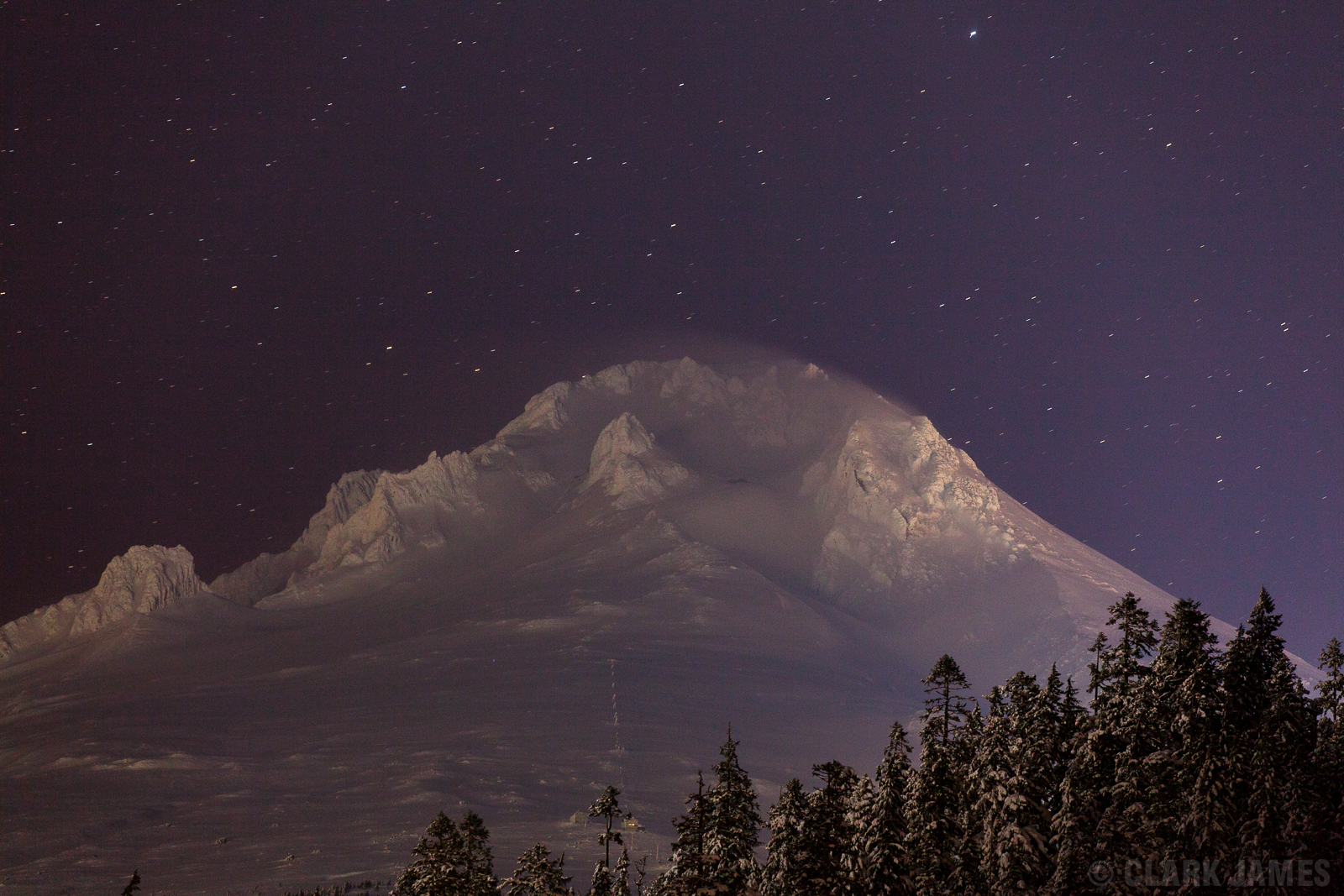 Mt Hood - New Years Eve