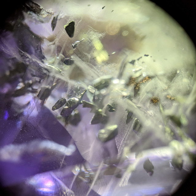 FLOURITE WITH MICRO INCLUSIONS