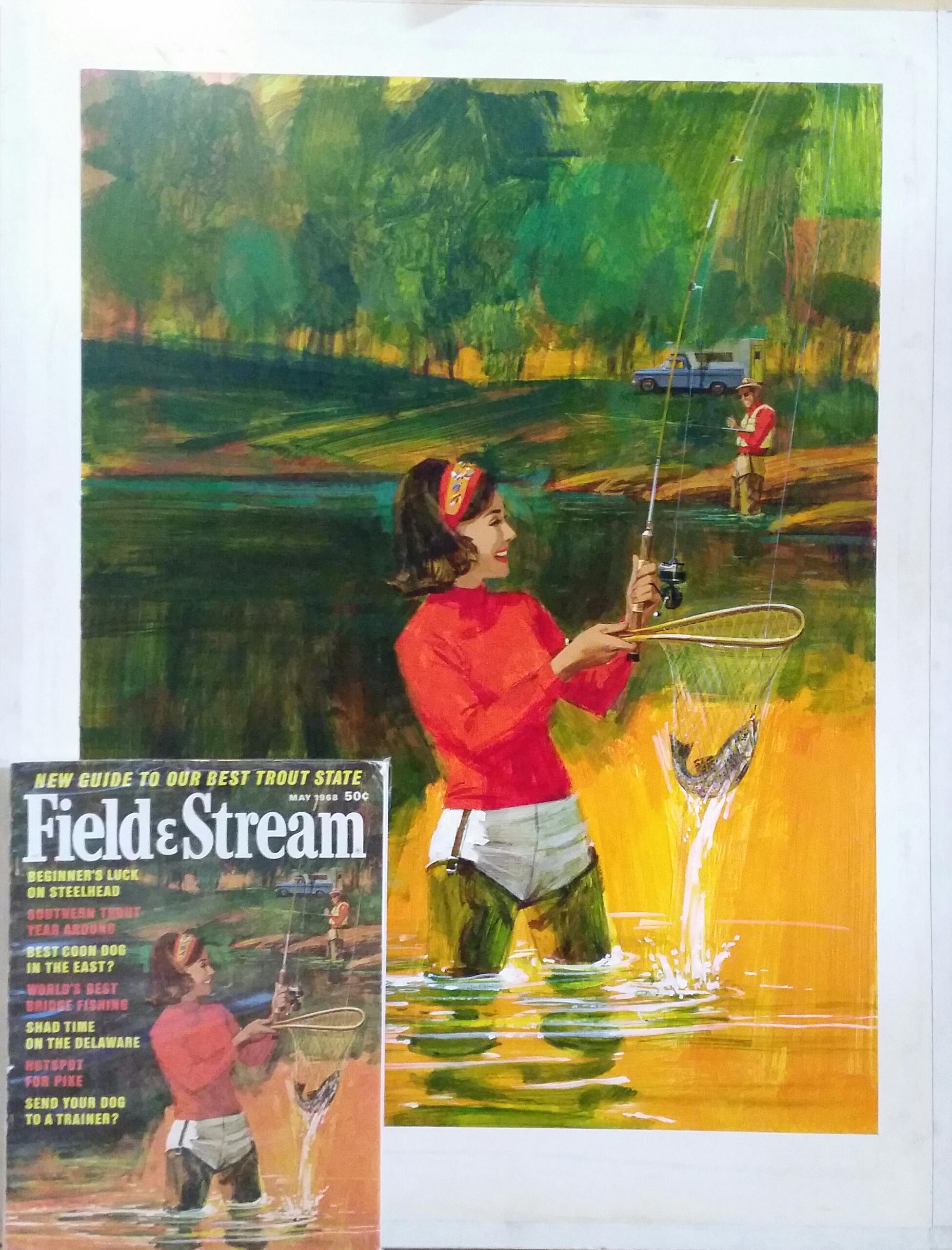 FIELD&STREAM COVER ILLUSTRATION
