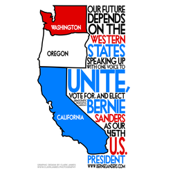 Western-States-Elect-Bernie-Sanders-By-Clark-James