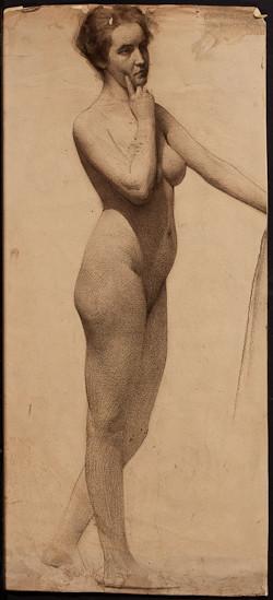 WilliamClaus_StandingNude_1900s