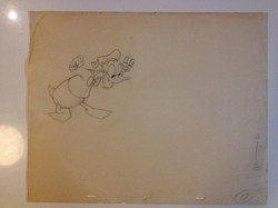 Donald Duck drawing