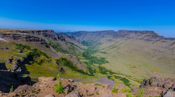 STEENS MOUNTAINS LOOKING NORTH