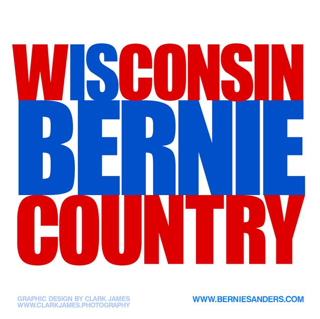 Clinton-Bernie-Sanders-By-Clark-James