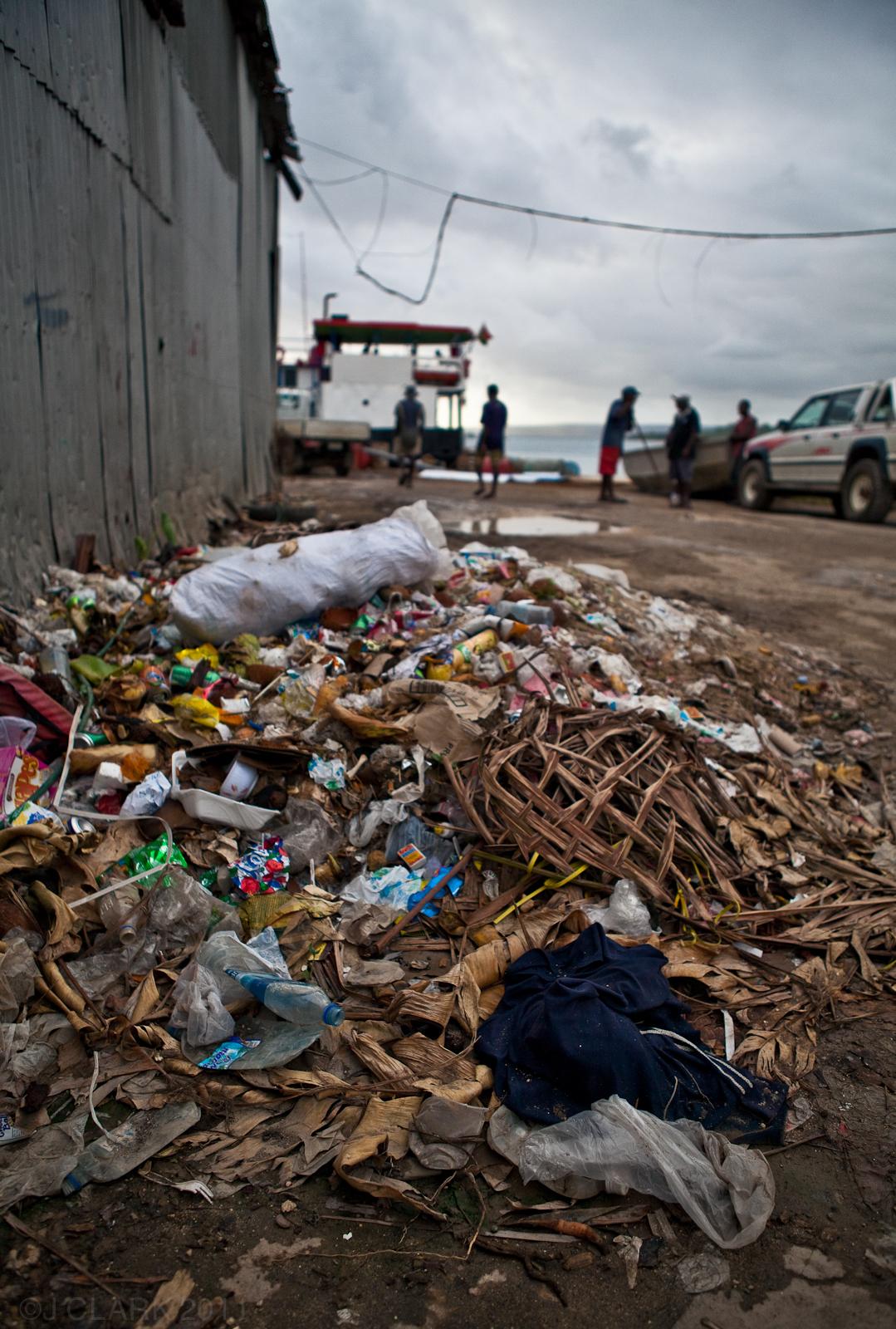 TRASH IN PORT VILA, VANUATU