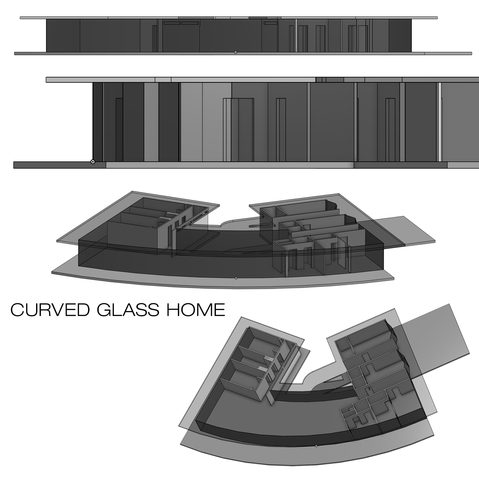 CURVED GLASS HOME