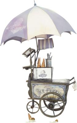 Box Trolls - Ice cream Cart