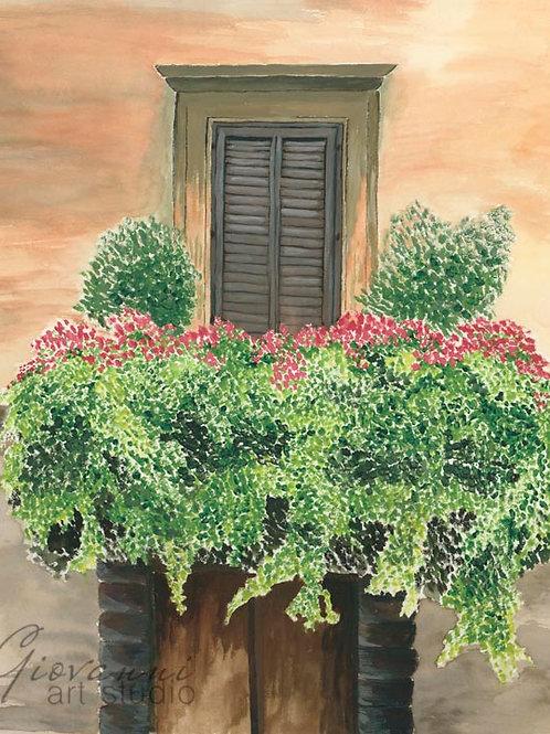 Un balcone in Roma