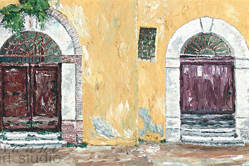 Porte Vecchie in Chieti, Abruzzo