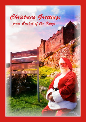 Santa Greetings from Cashel of the Kings
