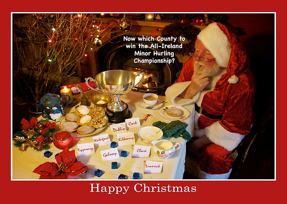 Santa chooses winner of Liam McCarthy Cup GENERIC