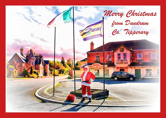 Santa in Dundrum Co. Tipperary