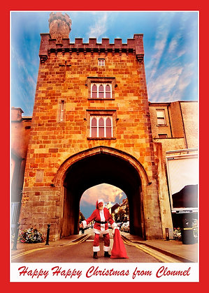 Santa at West Gate Clonmel