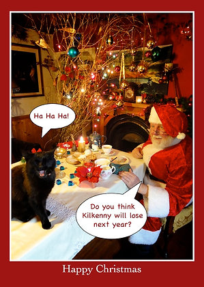 Santa asking cat - Will Tipp beat Kilkenny?
