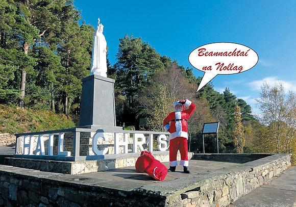 Santa Christmas Blessings (as gaeilge)