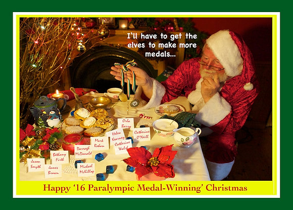 Santa chooses Irish Paralympic Medalists