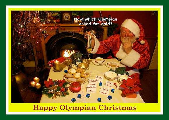 Santa chooses Irish Olympic Medalists